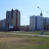 вид на новый дом на проспекте Октября, Стерлитамак