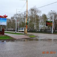перкрёсток на Курчатова, Стерлитамак