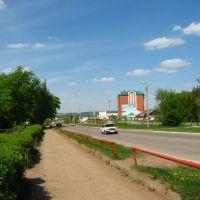 Ул. Чапаева недалеко от пересечения с ул. Комарова, Туймазы