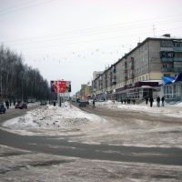 Lenin Prospect, south from railroad station, Туймазы