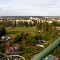 The park in Tuymazy, Туймазы