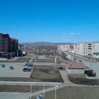 Учалы Вид с крыши Ленина 31а, Учалы