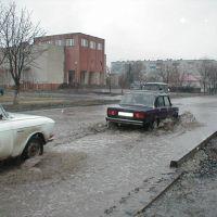 улица К. Маркса и УВД, Алексеевка