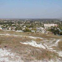 вид на северную часть города с горы, Алексеевка