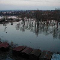 футбольное поле весной, Алексеевка