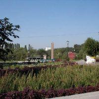 танк и памятник, Алексеевка