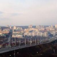 Вид на Белгород со смотровой площадки у Князя Владимира, Белгород