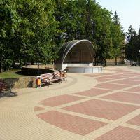 Уличная сцена-ракушка, Белгород