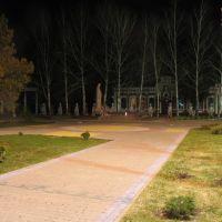 Мемориал апрельской ночью, Борисовка