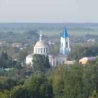 Борисовка, Белгородская область. Храм Михаила Архангела. 11 июня 2012.
