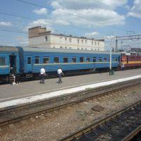 Поезд Москва-Донецк в Валуйках, Валуйки
