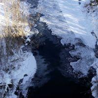 Река Валуй. Зима, Валуйки