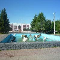 Фонтанчик в центре, Валуйки