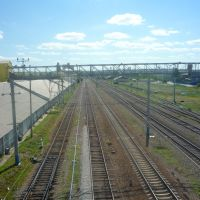 на станции Волоконовка  вид на юг, Волоконовка