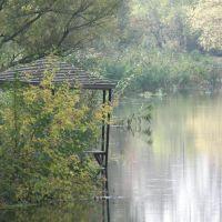 Парк на острове - беседка на воде, Грайворон