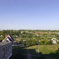 Вид из окна МГОУ, Губкин