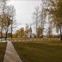 Церковь в старом парке, Губкин