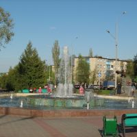 Губкин   -фонтан, Губкин
