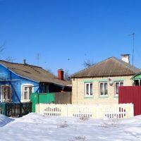 Старые дома на Партизанской улице, Ивня
