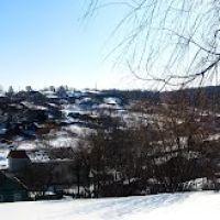 Вид на улицы Луговую и Гайдара, Ивня