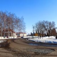 Перекрёсток улиц Ленина и Десницкого, Ивня
