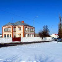 Вблизи перекрёстка улиц Советской и Ленина, Ивня