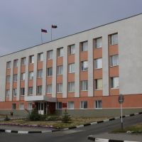 Здание администрации Корочанского района., Короча