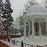 Беседка зимой, Короча
