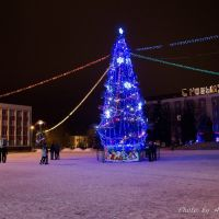 Новогодняя Елка на площади, Новый Оскол