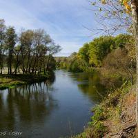 Река Оскол. Вид с обрыва, Новый Оскол