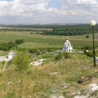Панорама Холковского монастыря, Новый Оскол