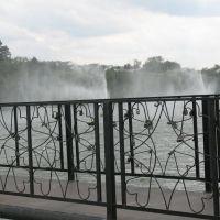 замки, мост, фонтаны, Ракитное