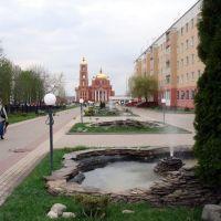 Каскад фонтанов, Строитель