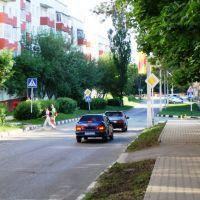 В парк (ул. Кривошеина), Строитель