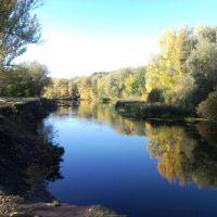 Река Оскол в районе Чернянки, Чернянка