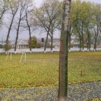 Футбольное поле в поселке Чернянка, Чернянка