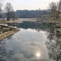 канал белобережской электростанции, Белые Берега