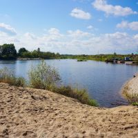 Snezhet river / Река Снежеть, Большое Полпино