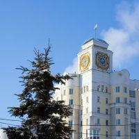 Часы (С новым годом), Брянск