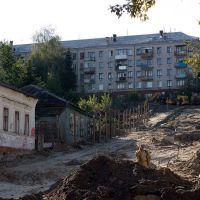 стройка спуска, Брянск