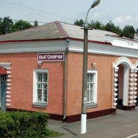 Вокзал на станции Выгоничи, Брянская область, Выгоничи