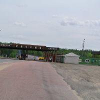 Гомель -Брянск граница, Вышков