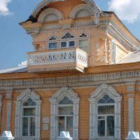 Злынка. Здание администрации / Zlynka. Building of the local authorities, Вышков