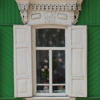 Окно. Резьба / Window. Fretwork, Вышков