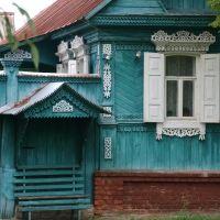 Окно и лавочка / Window and bench, Вышков