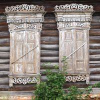 Старые ставни / Оld shutters, Вышков
