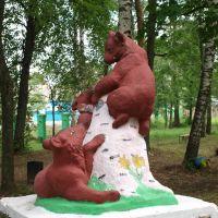 Мишки сзади / Bears back, Вышков