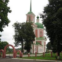 Hram Uspenia Bogorodici v Ovstuge, Жирятино