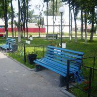 сквер на пересечении улиц Октябрьская, Ленинградская, Клинцы