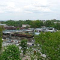 Переход на станции Брянск-Льговский, Кокаревка